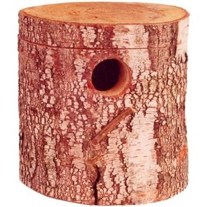 Merkloos Broedblok berkenhout parkiet