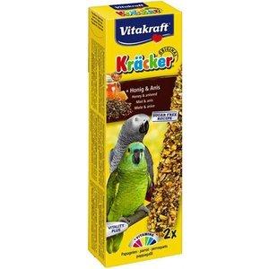 Vitakraft Vitakraft papegaai kracker honing