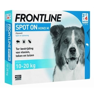 Frontline Frontline hond spot on medium