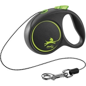 Flexi Flexi rollijn black design cord groen
