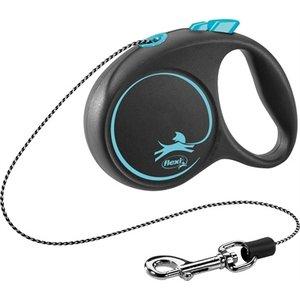 Flexi Flexi rollijn black design cord blauw