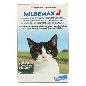 Milbemax Milbemax tablet ontworming kleine kat/kitten