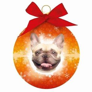 Plenty gifts Plenty gifts kerstbal franse bulldog