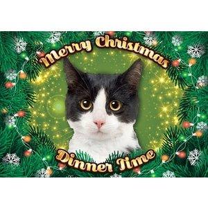 Plenty gifts Plenty gifts placemat xmas kat zwart / wit