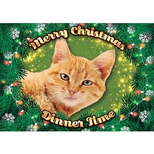Plenty gifts Plenty gifts placemat xmas kat rood