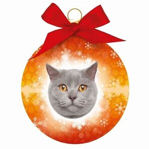 Plenty gifts Plenty gifts kerstbal britse korthaar