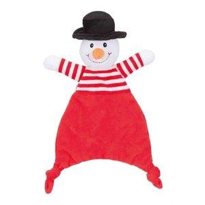 Trixie Trixie sneeuwpop / rendier / kerstman met ritsel assorti