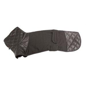 Croci Croci hondenjas voor windhond leer zwart