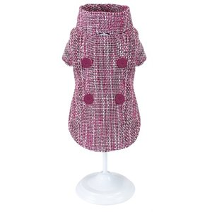 Croci Croci hondenjas pinky tweed roze