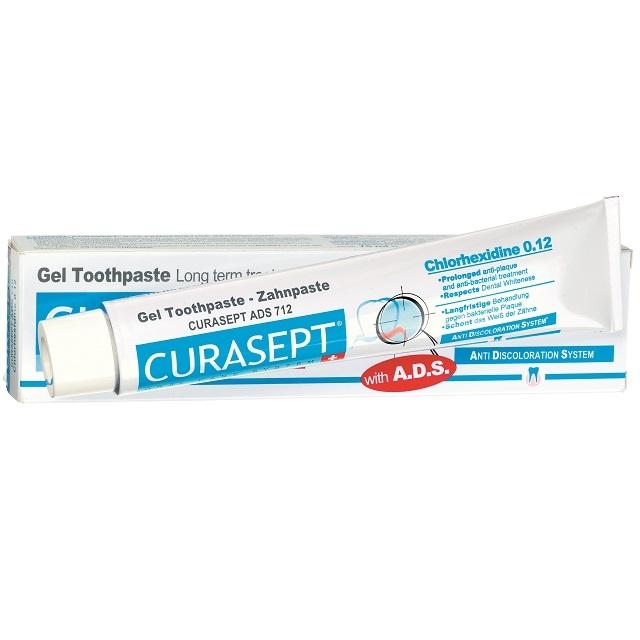 Curasept Gel-Tandpasta 0,12% chloorhexidine  - 75ml