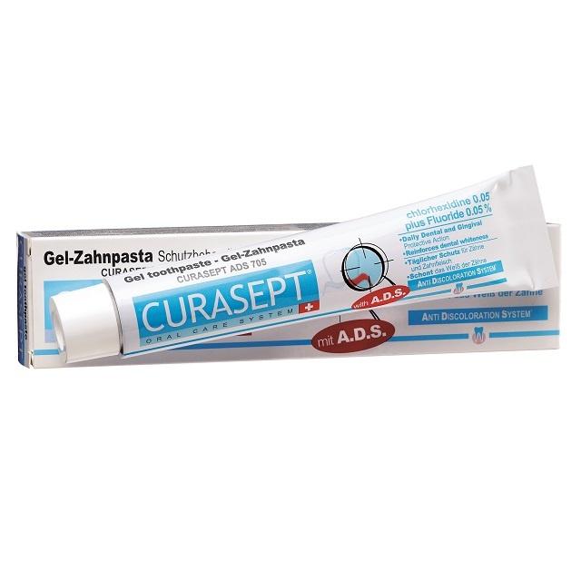 Curasept Gel-Tandpasta 0,05% chloorhexidine  - 75ml