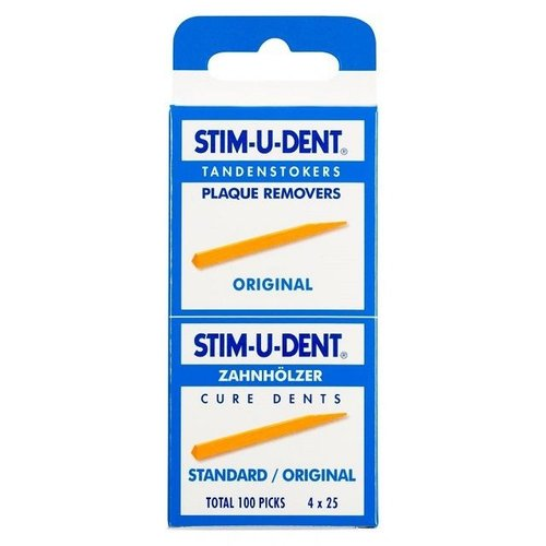 Stimudent Stimudent Tandenstokers regular - 4 x 25st