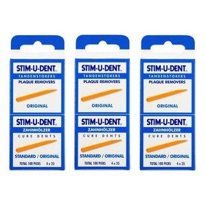 Stimudent Stimudent Tandenstokers regular - Voordeel 3 x 100st