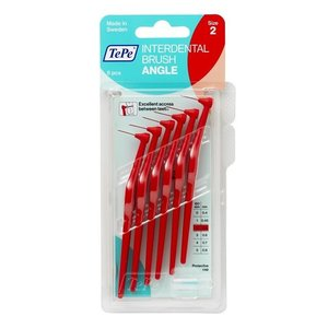 TePe TePe Angle rood 0,5 mm rager - 6st