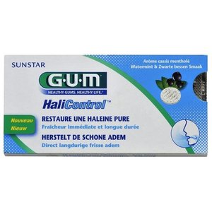 GUM GUM Halicontrol tabletten - 10st
