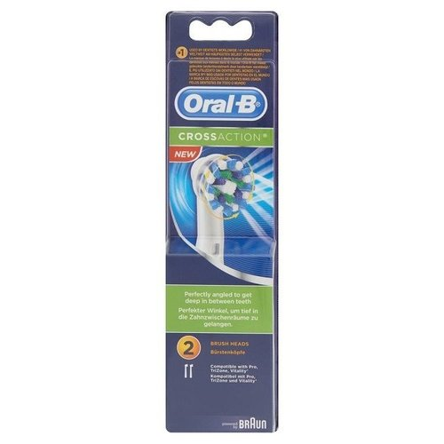 Oral B Oral B Opzetborstel EB50 cross action - 2st