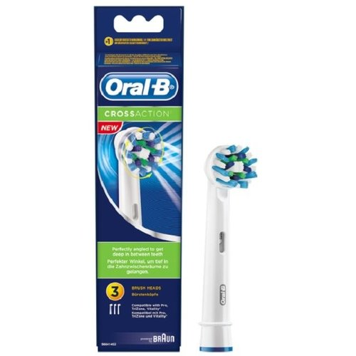 Oral B Oral B Opzetborstel EB50 cross action - 3st