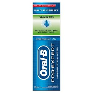 Oral B Oral B Tandpasta pro expert gezond fris - 75ml