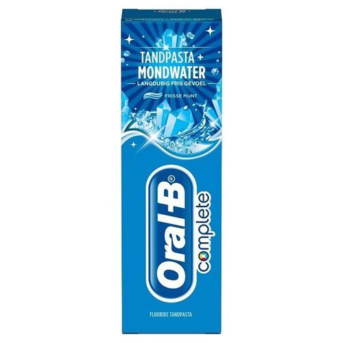 Oral B Oral B Tandpasta complete & mouthwash long lasting fresh - 75ml