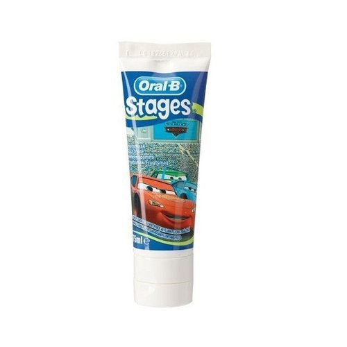 Oral B Oral B Tandpasta stage 0-5 jaar Cars - 75ml