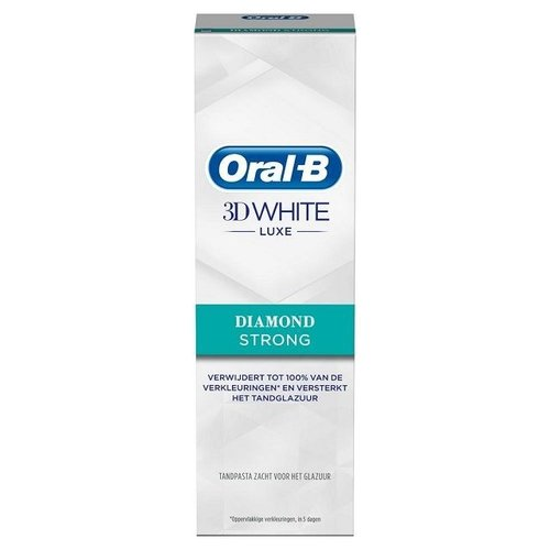 Oral B Oral B Tandpasta 3D white luxe diamond strong - 75ml