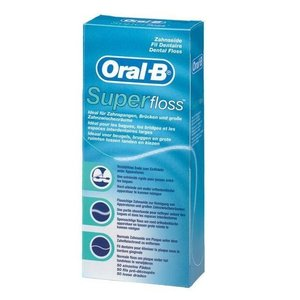 Oral B Oral B Super floss - 50st