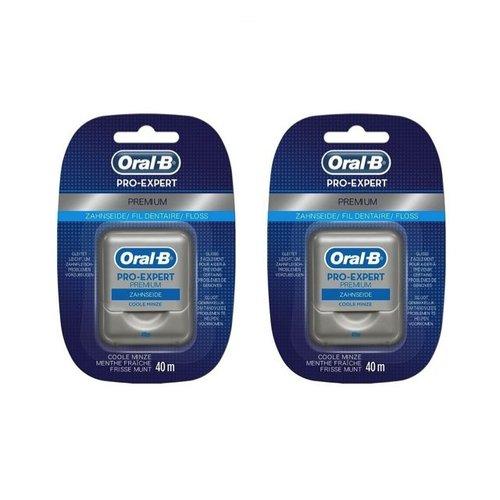 Oral B Oral B Pro-Expert Premium floss - Voordeel 2 x 40mtr