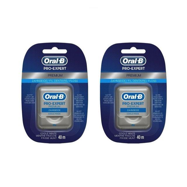 Oral B Pro-Expert Premium floss - Voordeel 2 x 40mtr