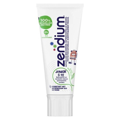 Zendium Zendium Tandpasta junior 5-12 jaar - 50ml