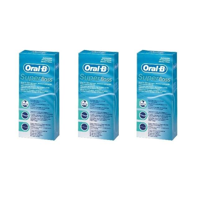 Oral B Super floss - Voordeel 3 x 50st