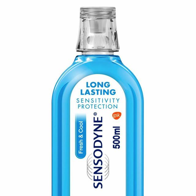 Sensodyne Mondwater fresh & cool - 500ml