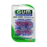 GUM Red cote plakverklikkers - 12st