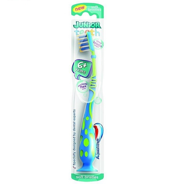 Aquafresh Tandenborstel kids junior teeth 6+ (stage3)  - 1st