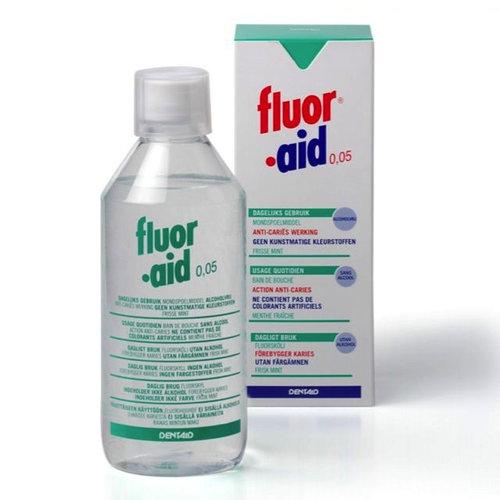 Fluor·Aid Fluor Aid mondspoelmiddel - 500ml