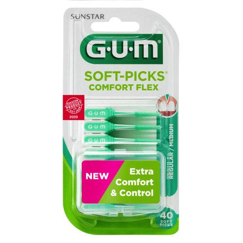 GUM GUM Soft Picks Comfort Flex regular - 40st