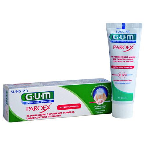 GUM GUM Paroex tandpasta - 75ml