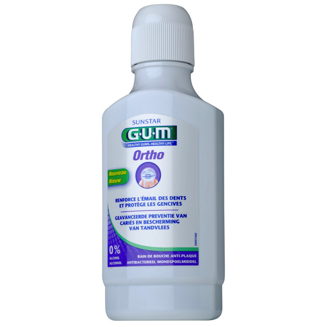 GUM Ortho mondspoelmiddel - 300ml