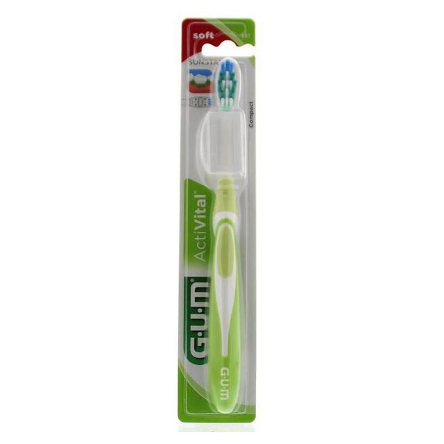 GUM Activital Tandenborstel soft  - 1st