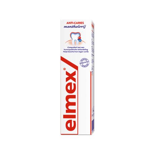 Elmex Elmex Tandpasta anti cariës mentholvrij  - 75ml