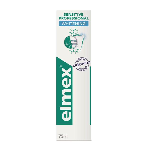 Elmex Tandpasta sensitive  whitening - 75ml