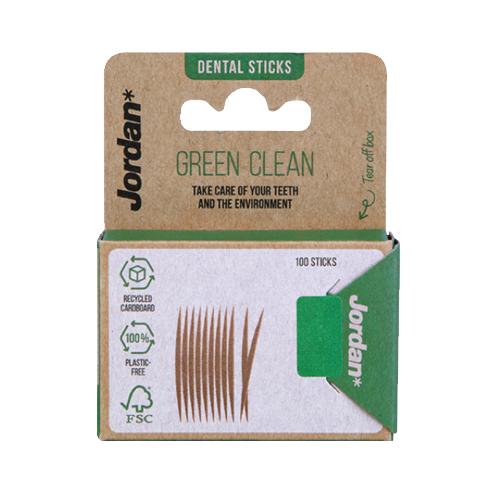 Jordan Jordan Dental Sticks Green Clean - 100st