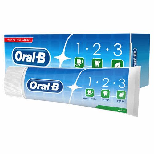 Oral B Oral B Tandpasta 1-2-3 Mint - 75 ml