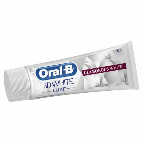 Oral B Oral B Tandpasta 3D white luxe glamoureus wit - 75ml