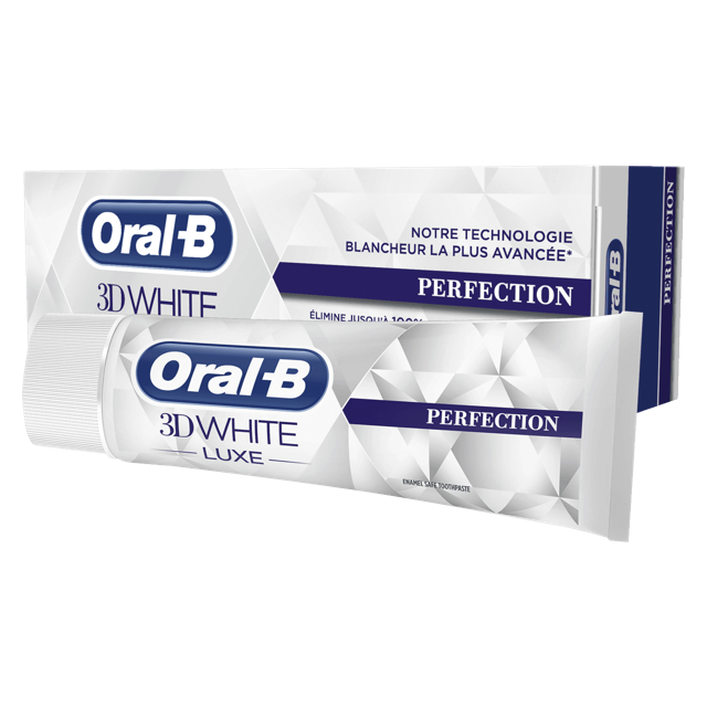 Oral B Tandpasta 3D white luxe perfection - 75ml