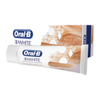 Oral B Tandpasta 3D white luxe zachte reiniging - 75ml