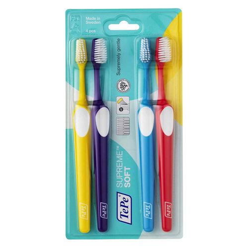 TePe TePe Supreme tandenborstel soft - 4st
