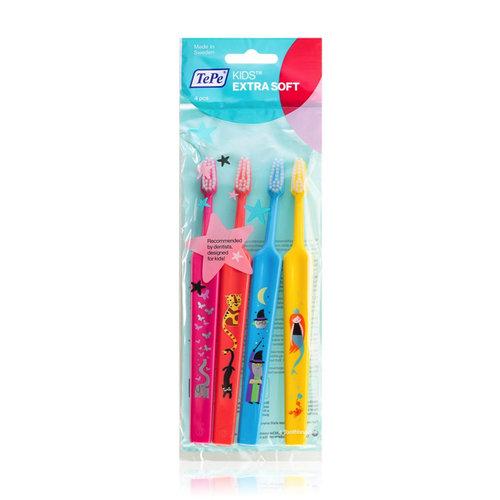 TePe TePe Kids  x-soft tandenborstel - 4st