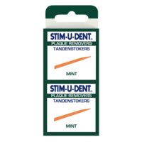 Stimudent Tandenstokers regular mint - 4 x 25st