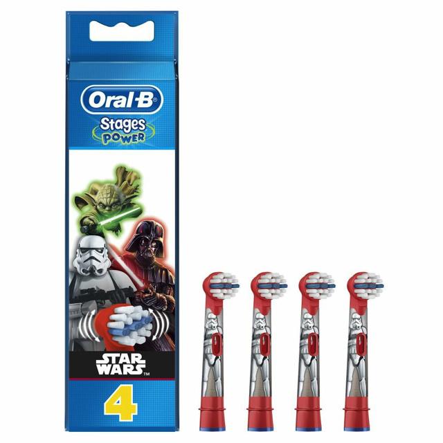 Oral-B Opzetborstel Kids Star Wars - 4st