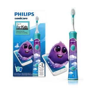 Philips  Philips Sonicare For Kids elektrische tandenborstel blauw HX6321/03 - 1st